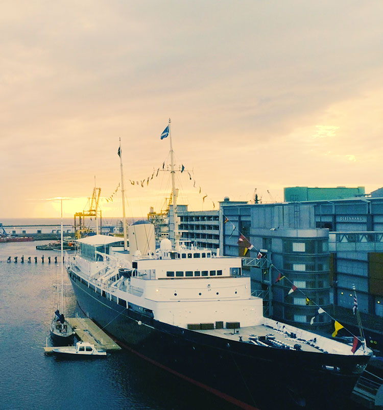 The Royal Yacht Britannia | Leith