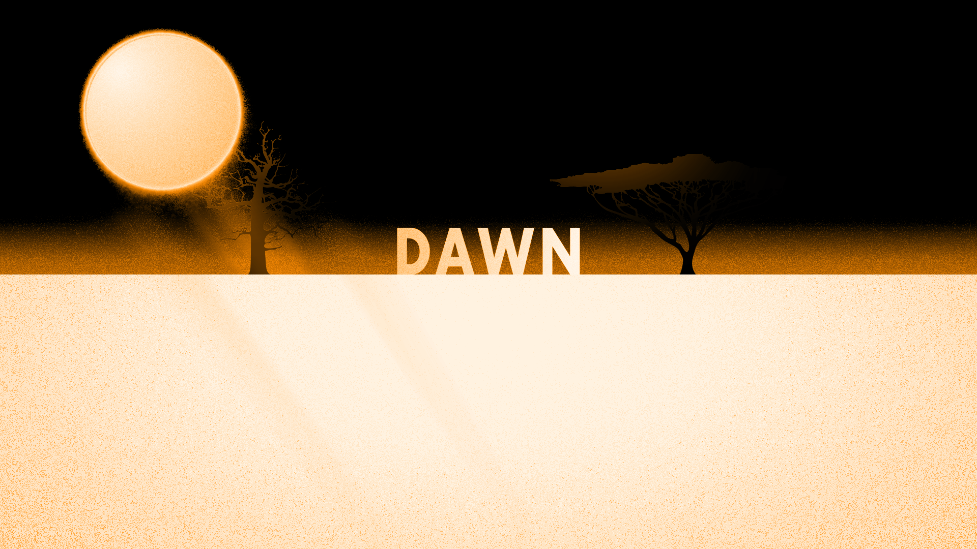 Dawn Dusk | Motion Graphics
