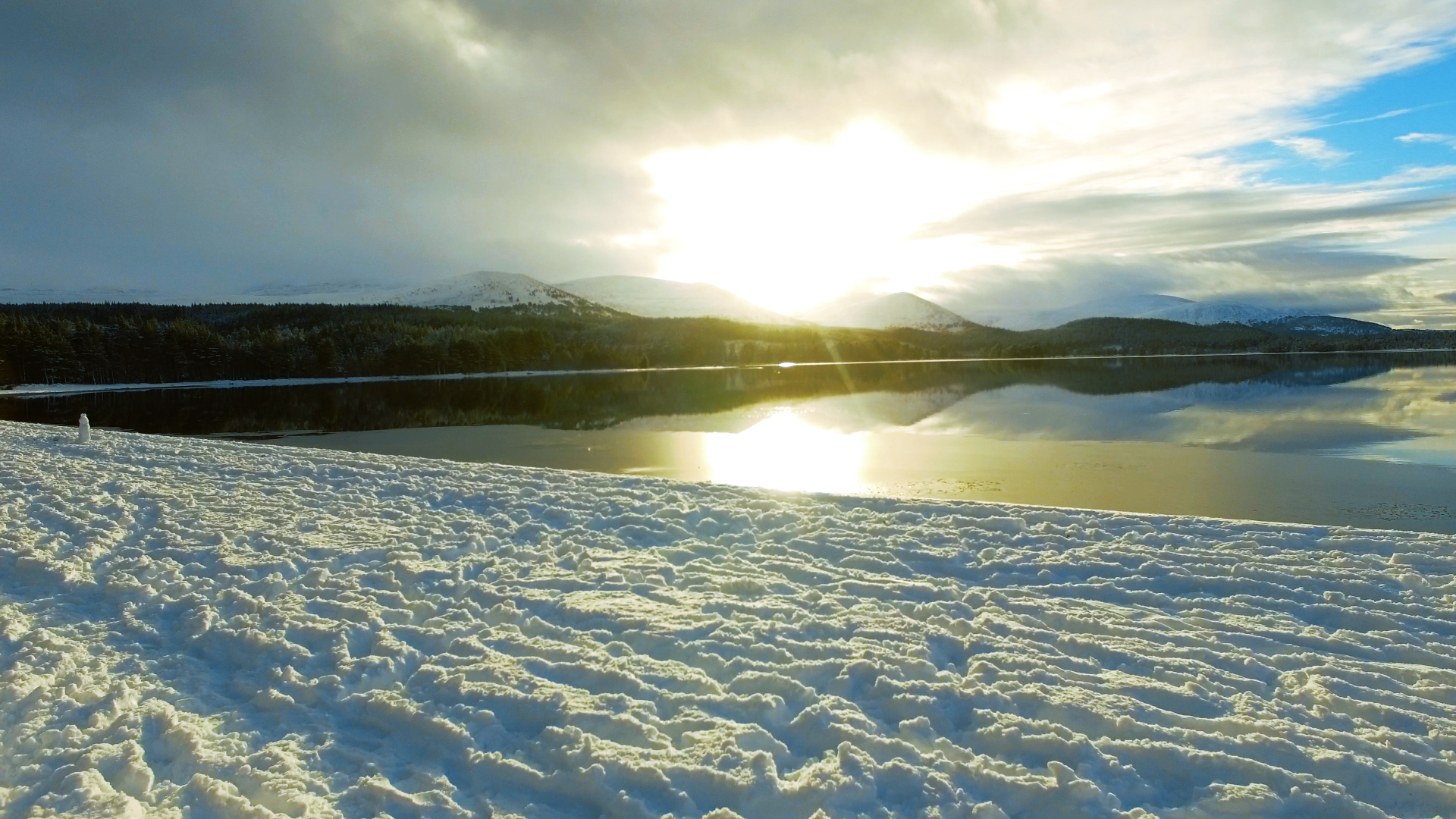 Cairngorms Aerial Drone Filming Scotland