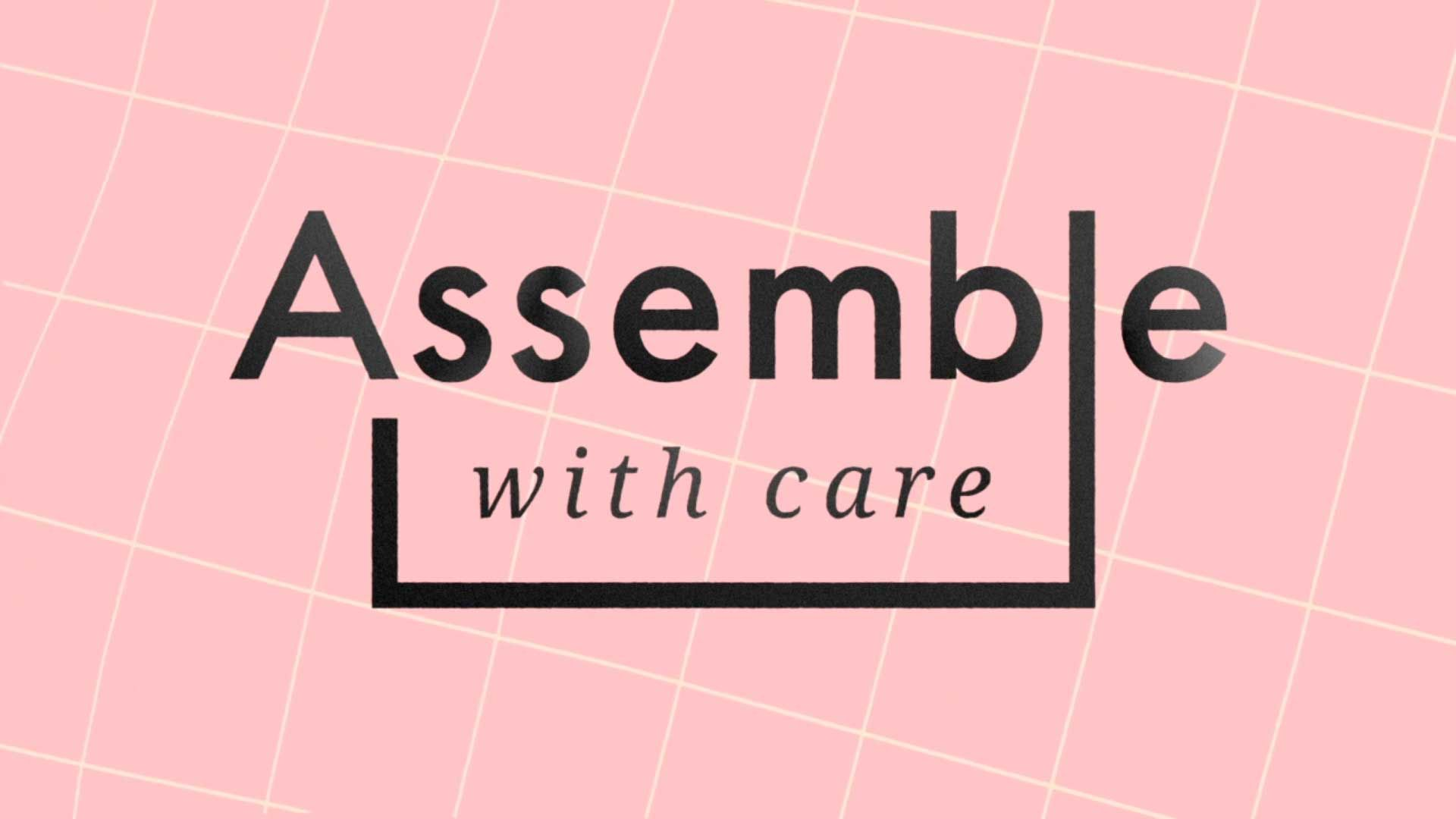 Assemble with Care // Logo Animation