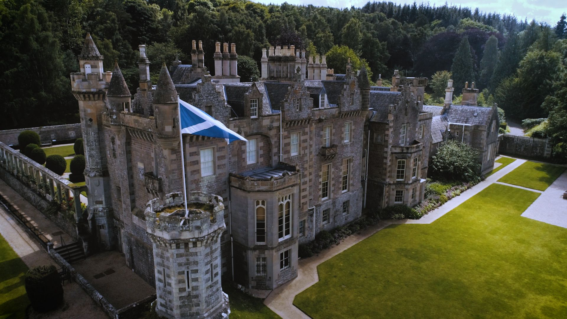 Abbotsford House, home of Sir Walter Scott